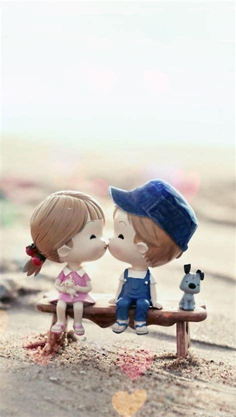 wallpaper cute kiss cute love couple in hd images tattoo design bild