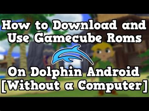 how to use dolphin emulator on android how to the dolphin emulator and how to get the iso how to save money and do it yourself