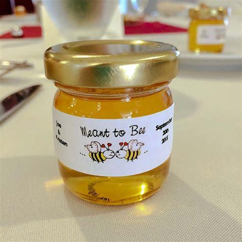 Wedding Favors Honey by Kristen And Joseph S Honey Wedding Favors