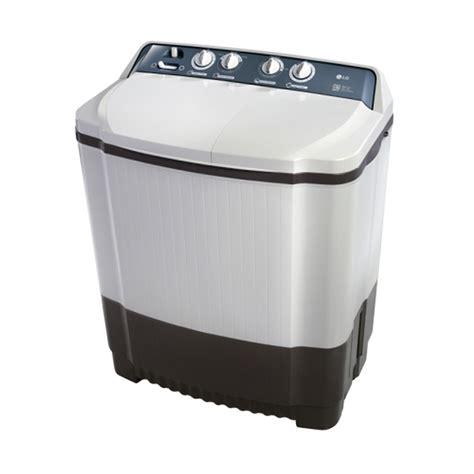 Mesin Cuci Lg 2 Tabung Kapasitas 8 Kg jual lg p800n mesin cuci 2 tabung 8 kg harga