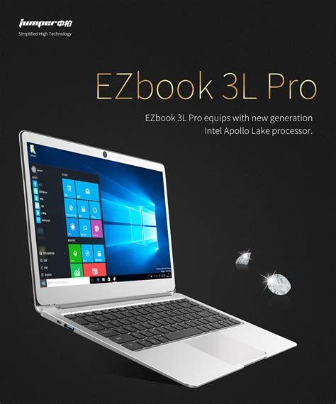 Wifi Jumper jumper ezbook 3l pro 14 quot 1080p win10 quadcore intel apollo lake n3450 6gb laptop ebay