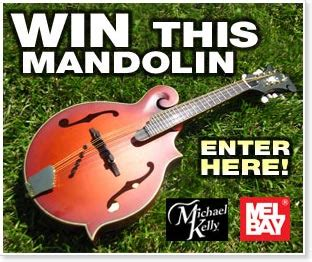 Mandolin Giveaway - win a free mandolin from mel bay and michael kelly