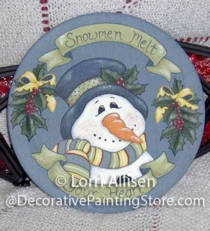 tole painting christmas ornament patterns snowman tole paintings free the decorative painting store snowmen melt your pattern