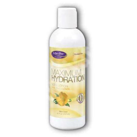 hydration 8 oz maximum hydration lotion 8 oz 4 89ea from flo