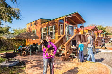 Koa Cabins In Florida by St Petersburg Madeira Resort Koa