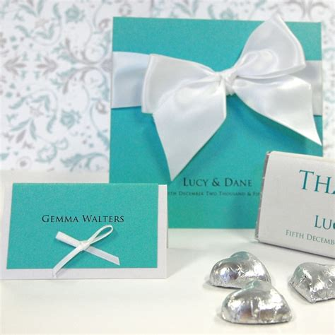 Tiffiny Blue Wedding Invitation Paper by Discount Wedding Papers
