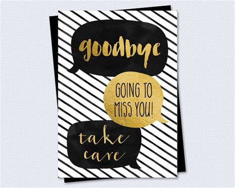Free Printable Farewell Cards To A Colleague