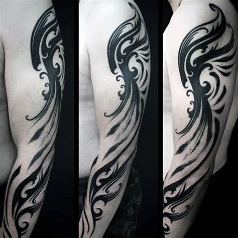 spiritual tribal tattoos 90 tribal sleeve tattoos for manly arm design ideas