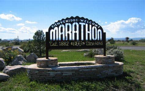 Marathon, TX & a marathon in TX. ? The Adventures of Liz & Jake