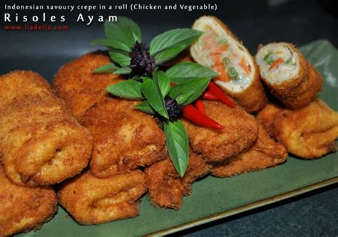 membuat risoles frozen risoles ayam liadella blog