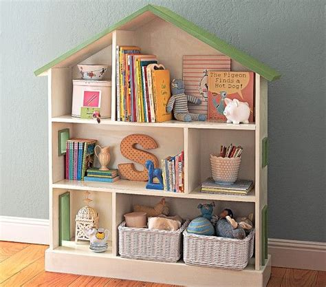 dollhouse bookcase pottery barn spaces