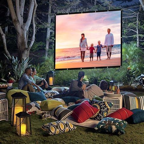 build your own outdoor home theater the money pit