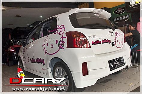 Karpet Agya Hello jok mobil kulit sarung harga murah gambar modifikasi