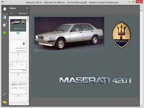 hayes auto repair manual 1990 maserati 228 windshield wipe control service manual maserati 228 manuale di officina service manual service manual maserati 228
