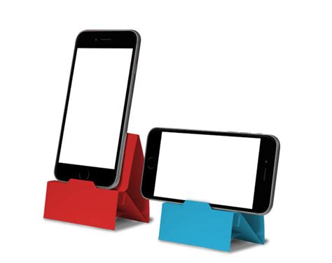 origami phone holder dock stand for smartphone origami style