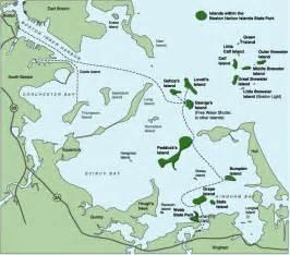 Boston Harbour Map by Visit The Boston Harbor Islands Chowdaheadz Blog