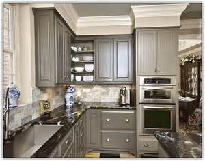amazing Grey Kitchen Walls With White Cabinets #1: gray-kitchen-cabinets-wall-color.jpg