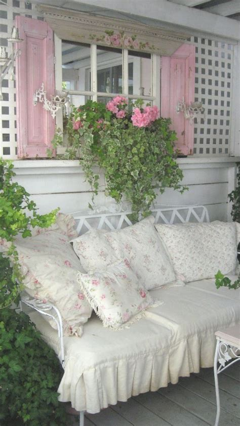 shabby chic patio shabby chic outdoor garden pinterest porches shutters and shabby