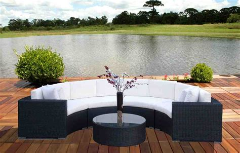 curved outdoor furniture curved patio sofa home furniture design