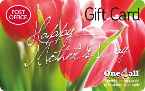 One For All Gift Card Post Office - fussy mothers can be appeased with a gift card from the post office