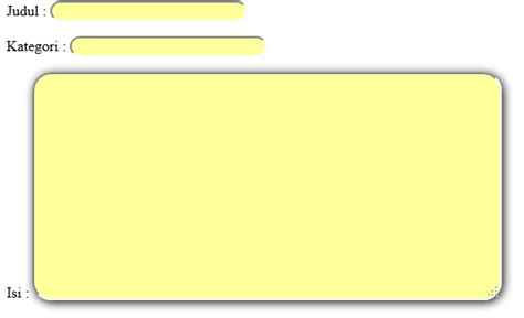 membuat textarea html cara membuat textfield dan textarea menarik dengan css