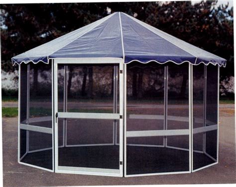 screen house octagonal free standing screen rooms gazebo style screen enclosures deck enclosures