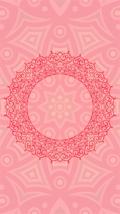arabic pink hd wallpaper   mobile phone