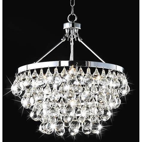 Chandelier Overstock copy cat chic arctic pear chandelier
