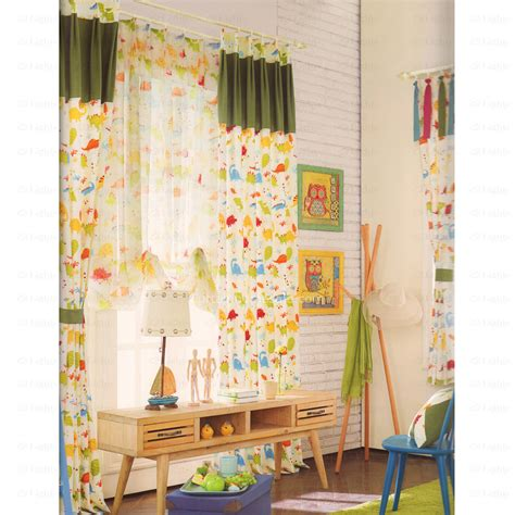 animal nursery curtains colorful printed animal pattern nursery curtain 2016 new arrival