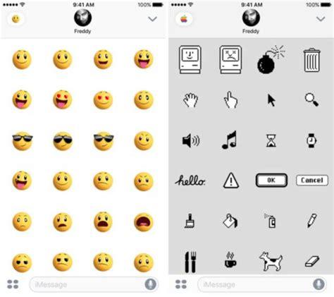 emoji ios 10 messages emoji pack for ios 10 revealed ubergizmo