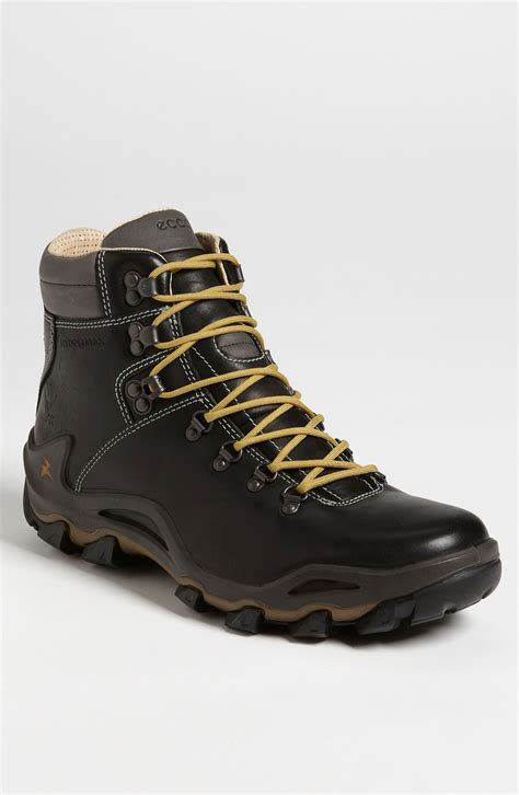 ecco boots for ecco sella hiking boot in black for black