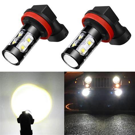 Review Led Light Bulbs Alla Lighting H8 H11 50w Led Fog Light Bulbs Review Xl Race Parts