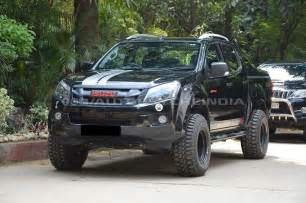 Lifted Isuzu Dmax Pics Isuzu V Cross And Dmax New Offroading Modifiers