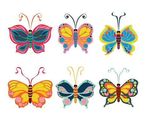 free vector clipart beautiful butterfly clipart vector vector graphics