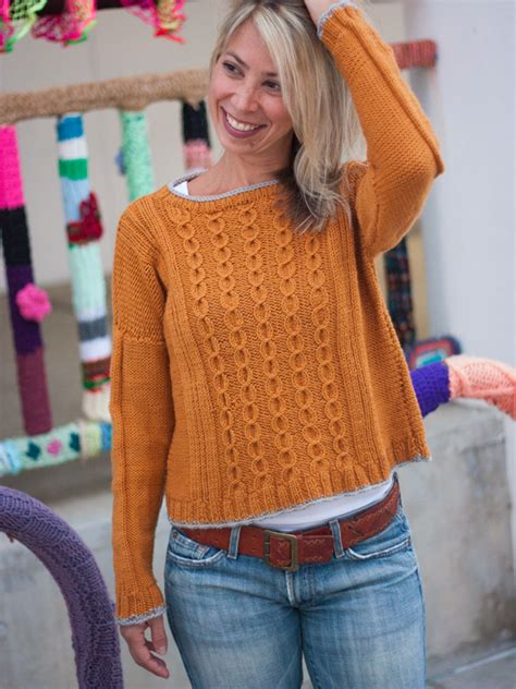 jersey knitting patterns weekly featured pattern not a jersey cable sweater