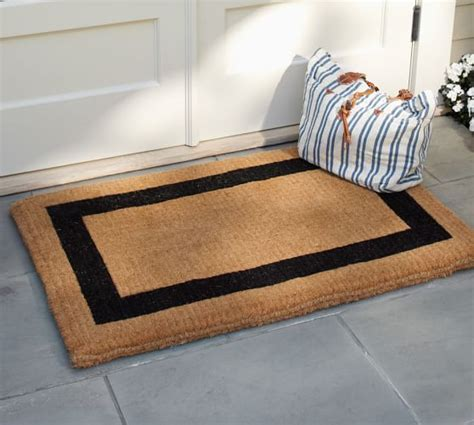 Doormat Well Frame by Picture Frame Doormat Pottery Barn