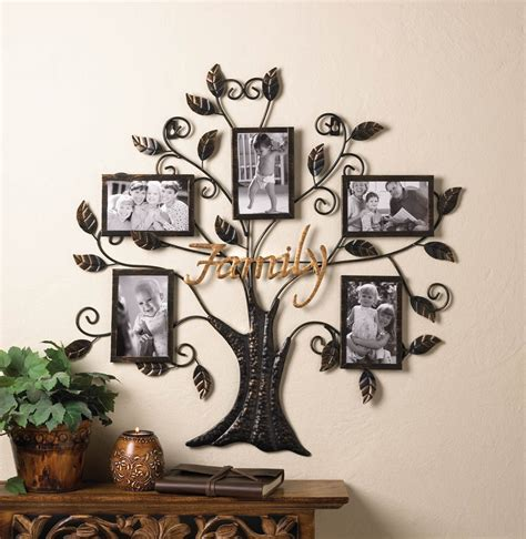 Picture Frame Decor by Family Tree Hanging Picture Frame Wall Decor Eonshoppee