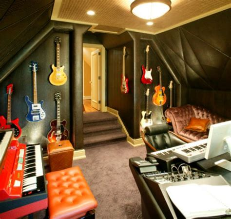 home studio decor how to decorate a home music room