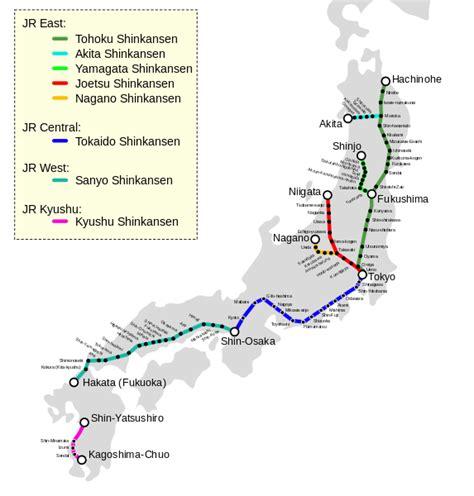 shinkansen map file shinkansen map svg