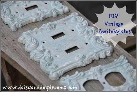 vintage light switch plate covers diy vintage switch plate covers that diy party