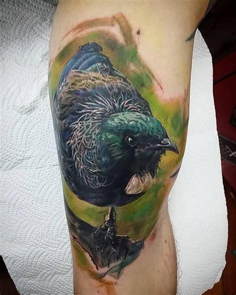 best tattoo parlour queenstown tui bird by michael hsieh tattoonow