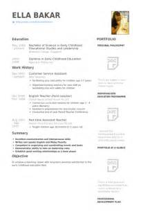customer service assistant resume sles visualcv