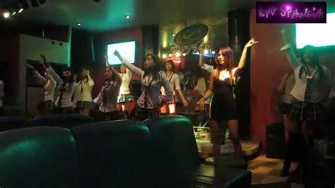 one club cute girls in ktv stancia in manila karaoke youtube
