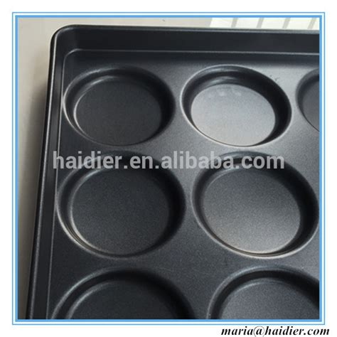 Teflon Burger 400 600mm teflon burger bun pan hamburger pan view hamburger pan haidier product details from