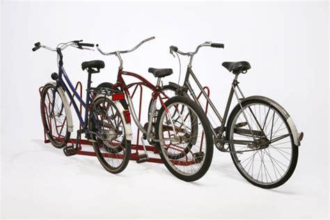 Angled Bike Rack 5 bike angled rack