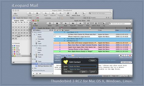 mozilla mac themes ileopard mail 3 2 6 by reo 2007 on deviantart