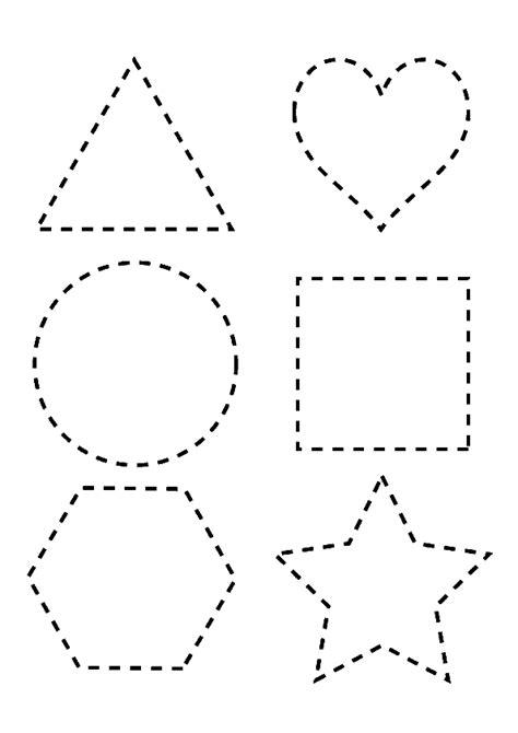 imagenes figuras geometricas para colorear dibujos para repasar imagui