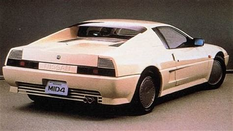 nissan 80s sports cars 1985 nissan mid4 concepts