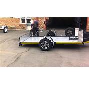 Ground Loading Trailer By Zero Trailers  PART 1