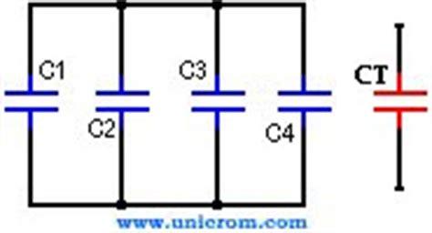capacitor equivalente que es capacitores capacitor en paralelo y en serie